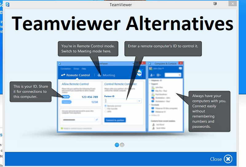 Best Teamviewer Alternatives That You Can Use 2020